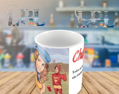 Caneca Personalizada Selfie do chapolin colorado