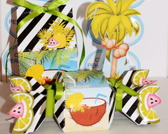 kit mini lembrancinhas tropical