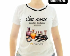 Baby look Customizada - Natura