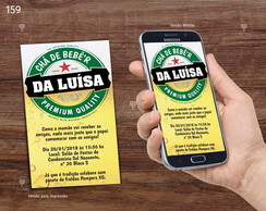 Chá de Beber - Digital Whatsapp R 159