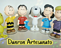 Turma do snoopy de biscuit