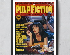 Quadro Pulp Fiction 20x30cm