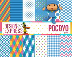 Kit Papel Digital - Pocoyo