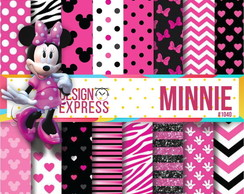 Kit papel Digital - Minnie