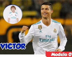 Painel Lona Cristiano Ronaldo Cr7 Real Madrid Festa Niver Hd