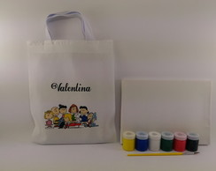 Kit Pintura com Guache Turma do Snoopy