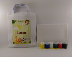 Kit Pintura com Guache Safari