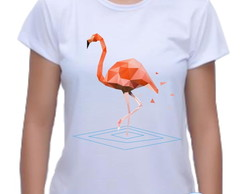 Camiseta Baby Look Flamingo 01