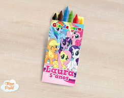 Giz de cera My Little Pony