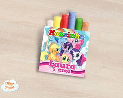 Massinha de modelar My Little Pony