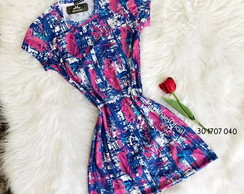 Dress (Vestido) com Manga- P/M/G