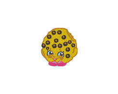 Patch Bordado Shopkins - Cookie