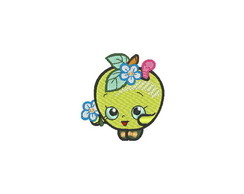 Patch Bordado Shopkins - Maçã