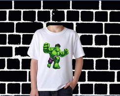 CAMISETA INFANTIL DO HULK C/ 1