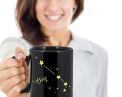caneca zodiac constellation black