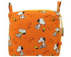 Necessaire Triangular Dog Laranja