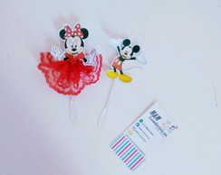 Toppers Minnie e Mickey