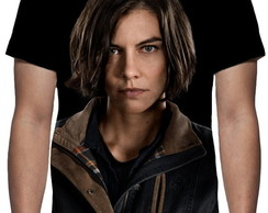 Camiseta Série The Walking Dead Maggie Greene Face