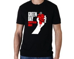Camiseta de Rock Green Day