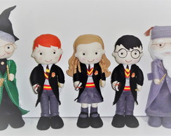 Kit Harry Potter - 5 Personagens