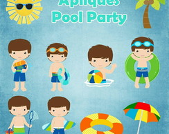 Apliques Pool Party Menino II
