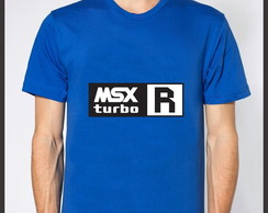 Camiseta Geek Computador MSX Turbo