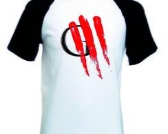 ... Camisa Camiseta Raglan Curta Oficina G3 Rock 7cac2e7a0e94e