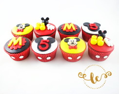 Cupcake do mickey (diversos modelos)