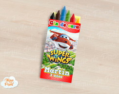 Giz de cera Super Wings