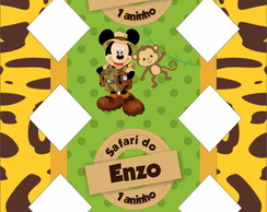 Caixa Bala Mickey Safari