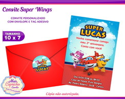 Convite Super Wings