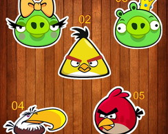 Aplique / Recorte / AngryBirds