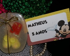 Sabonete Roupa do Mickey