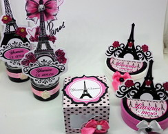kit festa 40 pcs barbie paris