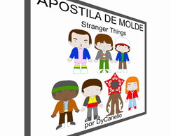 Apostila digital de molde Stranger Things