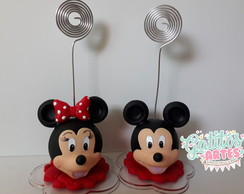 Porta Recado Minnie e Mickey