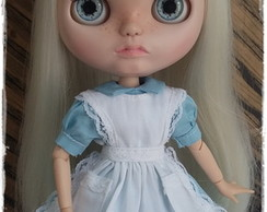 Outfit Alice in Wonderland p/Blythe