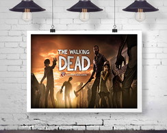 Poster Digital - The Walking Dead