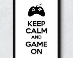 Poster Digital - Keep Calm