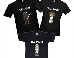Camisetas Star Wars Familia