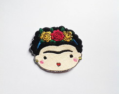 Patch Bordado Termocolante Frida Kahlo - modelo2