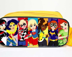 Estojão DC Super Hero Girls