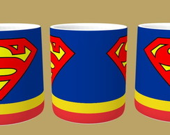 Caneca de Porcelana Personalizada 325 ML - Superman