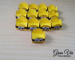 Forminha p/ Doces Personalizada Minions