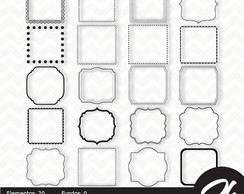 Kit Scrapbook Papel Digital SH046 - Frames