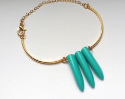 Pulseira turquoise tooth
