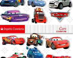Kit Digital Scrapbook Carros Disney Cars 2