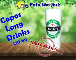 Copos Long Drinks personalizados 350 ml heineken