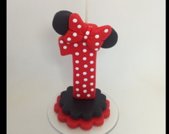 Vela Biscuit Minnie - Modelo 1