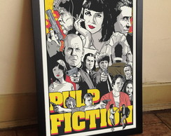 Quadro Pulp Fiction A3
